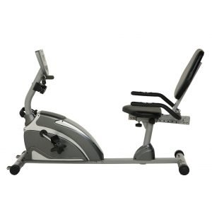 Exerpeutic Steel 900XL Extended Capacity Recumbent Bike with Pulse
