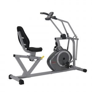 Sunny Health & Fitness SF-RB4708 Cross-Training Magnetic Recumbent Bike